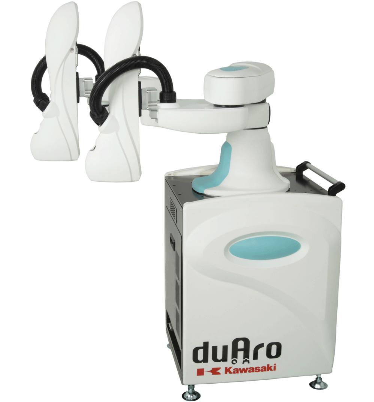 """Kawasaki """"duAro"""" dual-arm SCARA robot"""