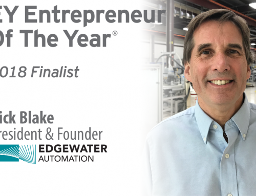 EY Announces Rick Blake of Edgewater Automation Entrepreneur Of The Year® 2018 Award Finalist in Michigan and Northwest Ohio Region
