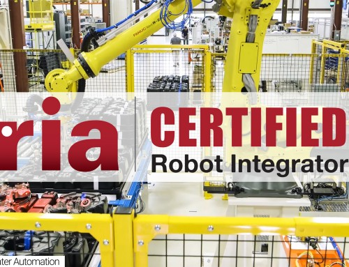 Edgewater Automation Becomes an RIA Certified Robot Integrator