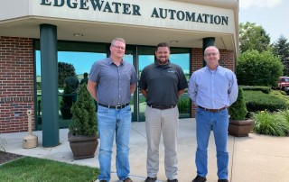 New Roles Announced For Longtime Employees at Edgewater Automation